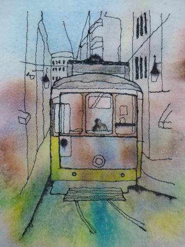 Straßenbahn Bild